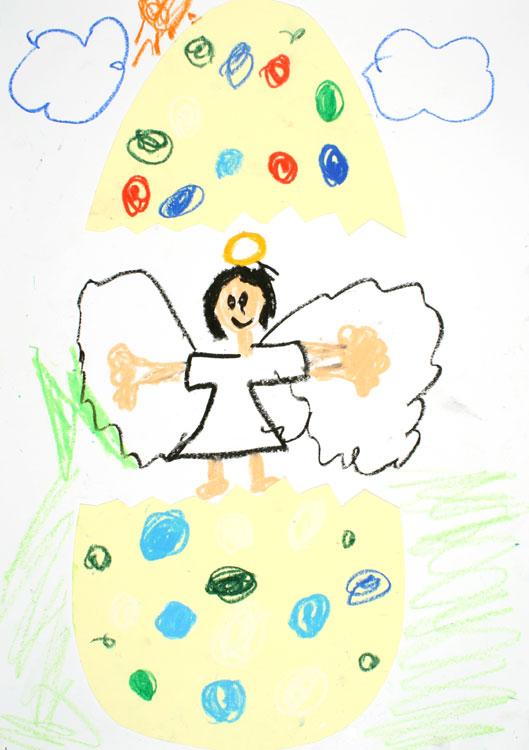 Ein Engel kommt aus dem Ei von Maki (7)