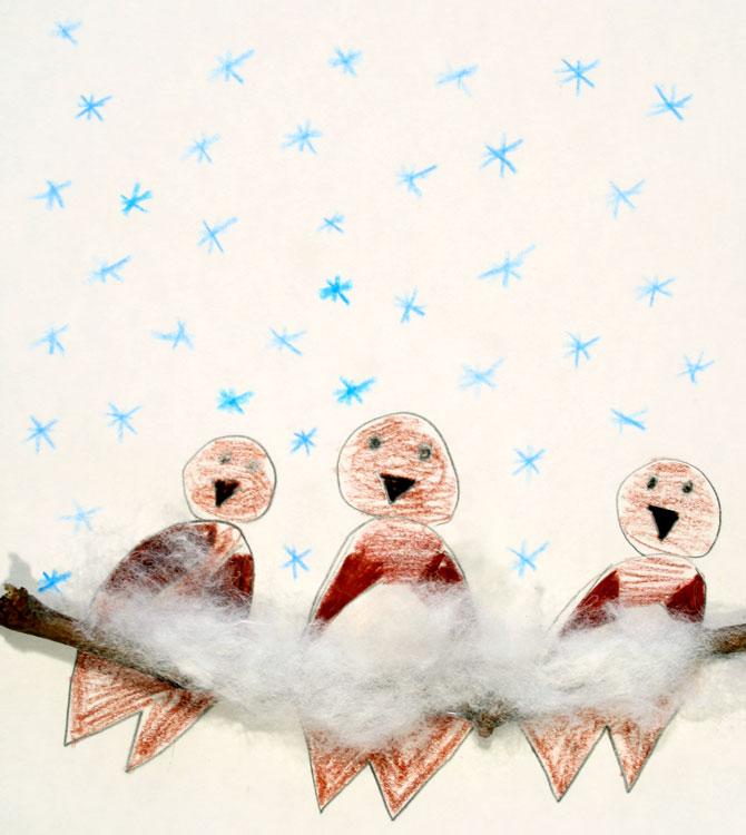 Spatzen im Schnee von Lilli (7)