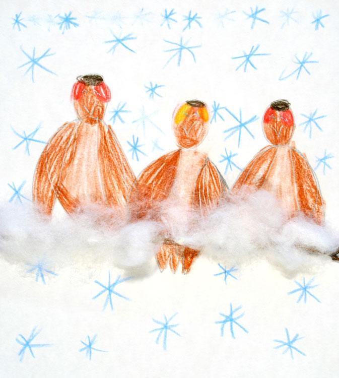 Spatzen im Schnee von Eylem (7)