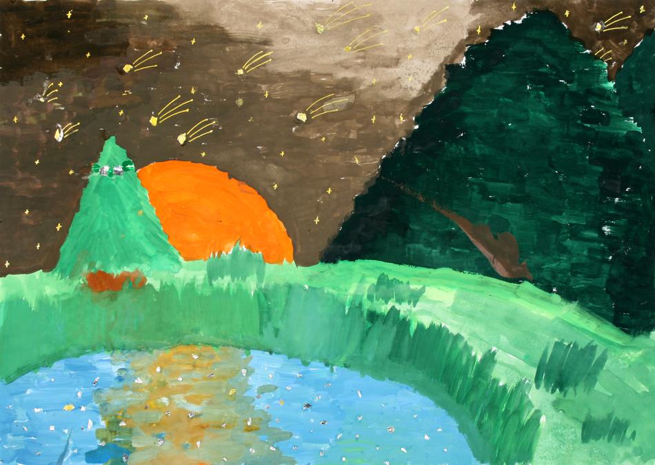 Sternschnuppen in den Bergen von Maya (9)