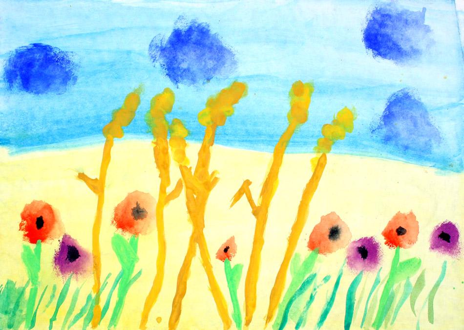 Getreide mit Feldblumen von Marie (8)