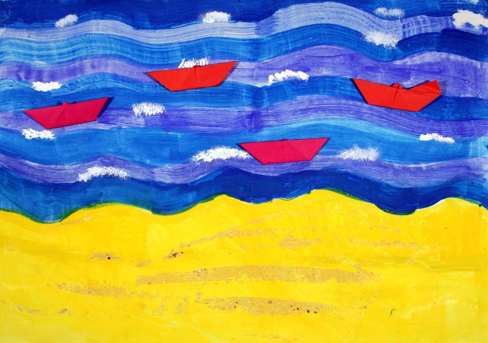 Schiffe auf dem Meer von Yvonne (7)