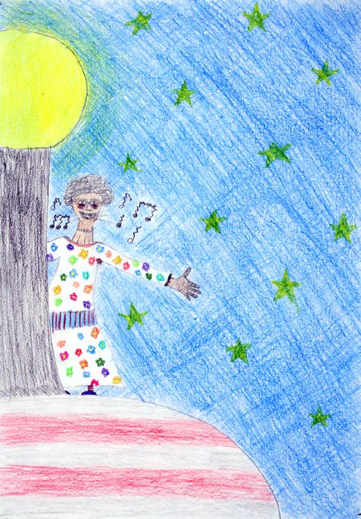 Oma Liese singt hart auf dem Funkturm von Jaqueline (13)