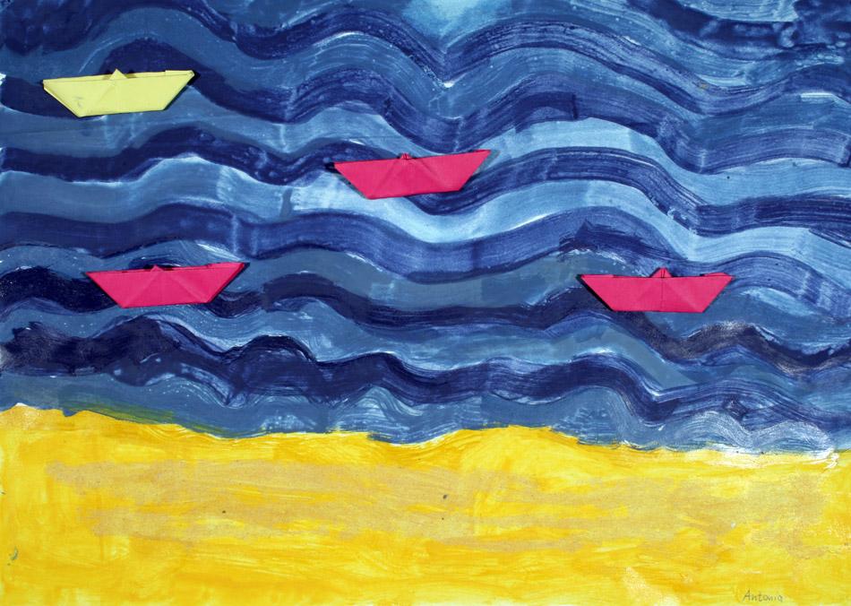 Schiffe auf dem Meer von Antonia (7)