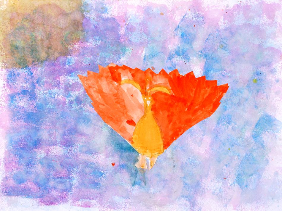Fliegender Feuervogel von Lena (10)