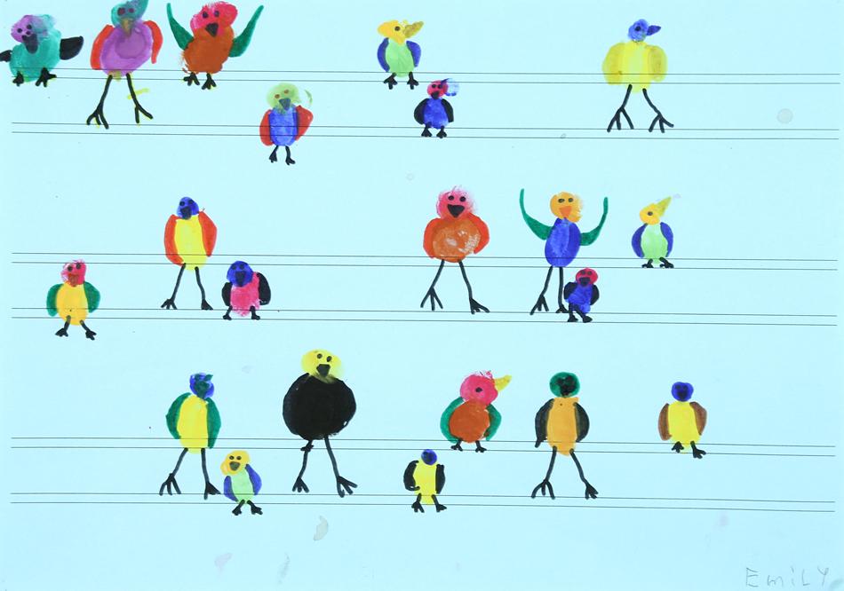 Vögel auf der Oberleitung von Emily (7)