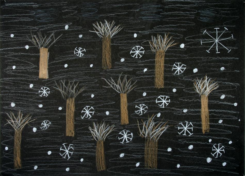 Im Winterwald von Gemeinschafts- arbeit (9-10)