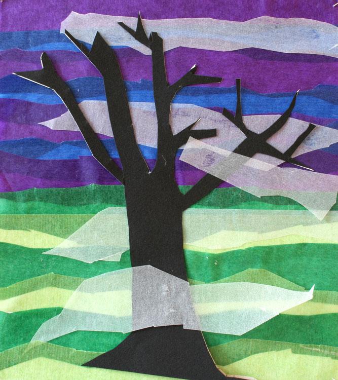 Baum im Nebel von Maxi (8)