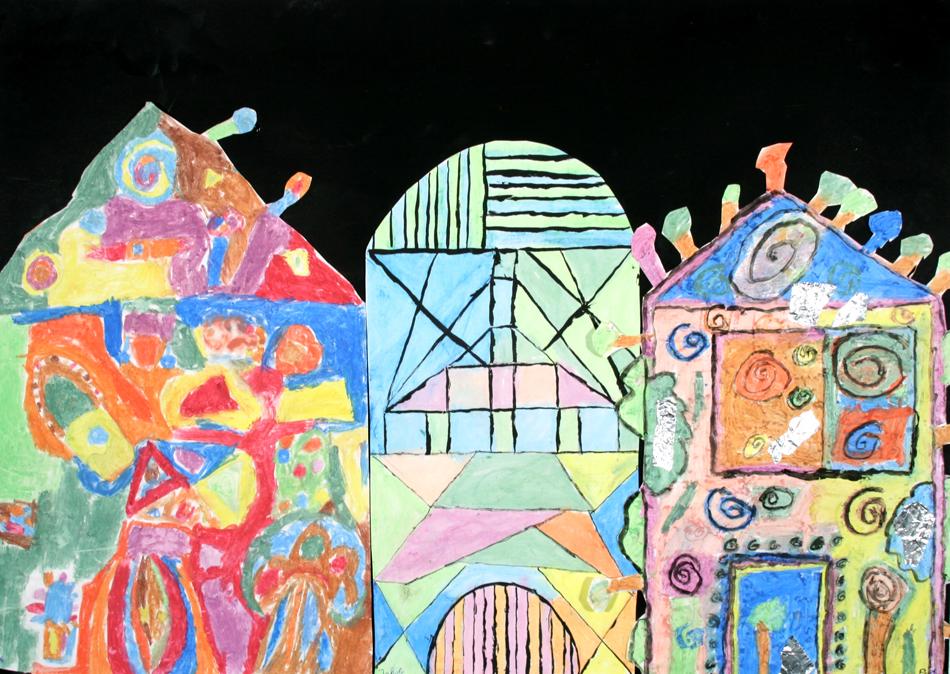 Hundertwasser-Häuser von Jacob, Pia und Rebecca (9)