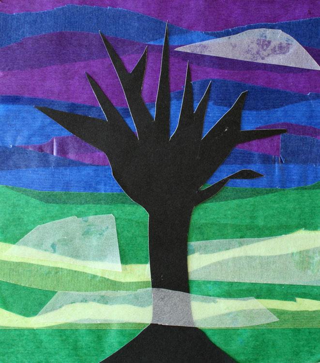 Baum im Nebel von Lilli (8)
