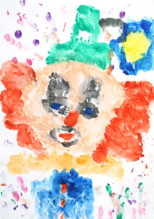 Clowngesicht von Dunja (9)
