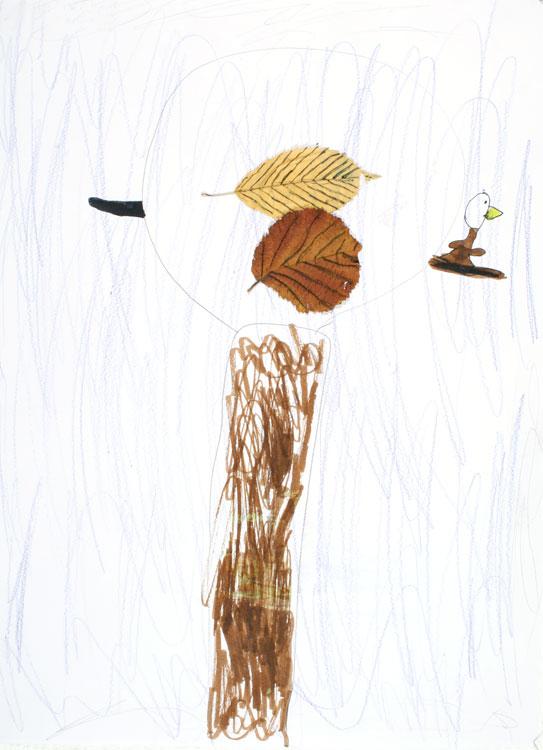Baum mit Vogel von Paulina (6)