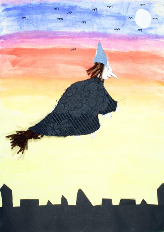Fliegende Hexe von Sophia (8)