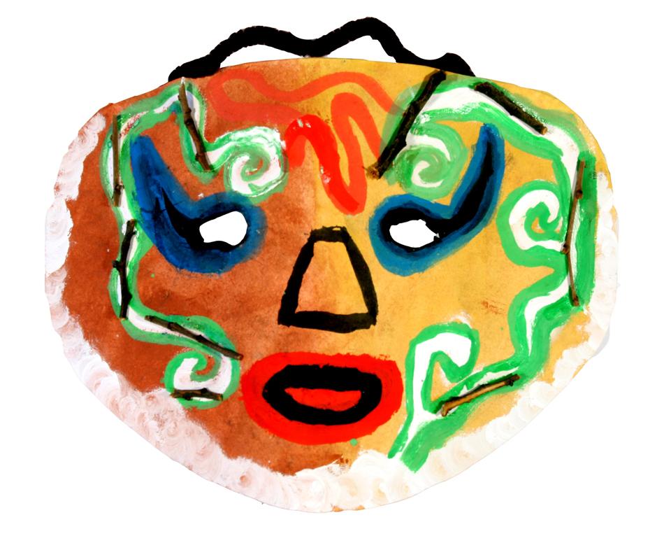Afrikanische Maske von Hellin (10)