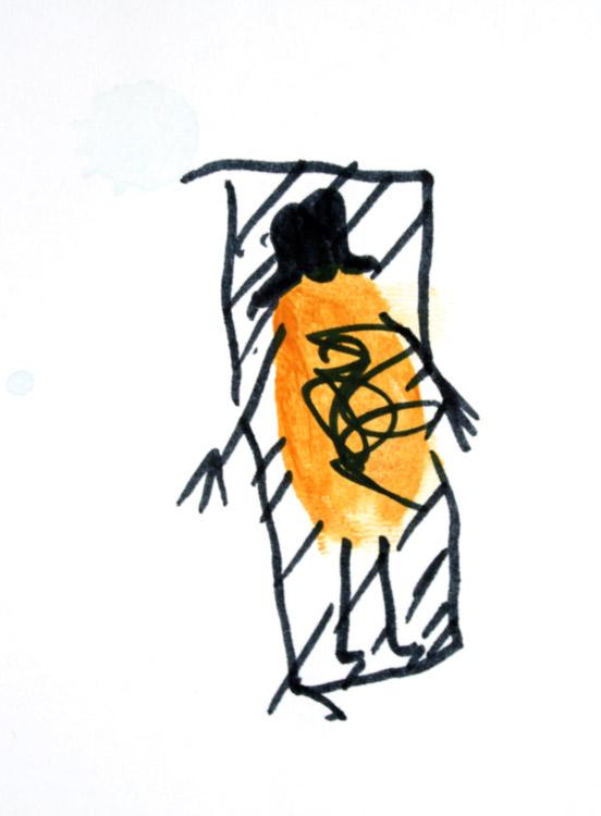 Frau im Liegestuhl von Laura (6)