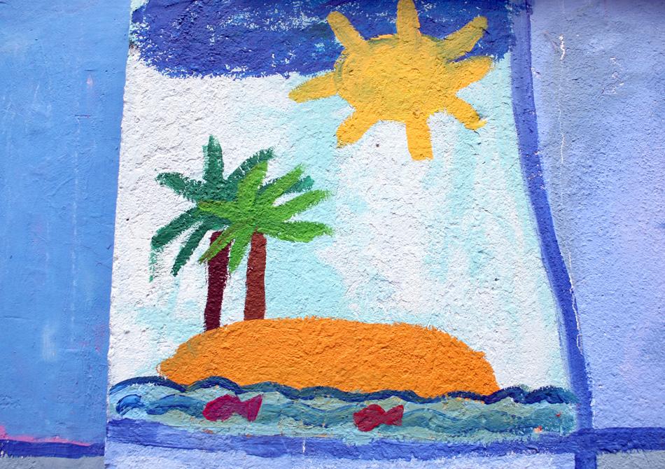 Insel im Meer von Gemeinschafts- arbeit (7-10)