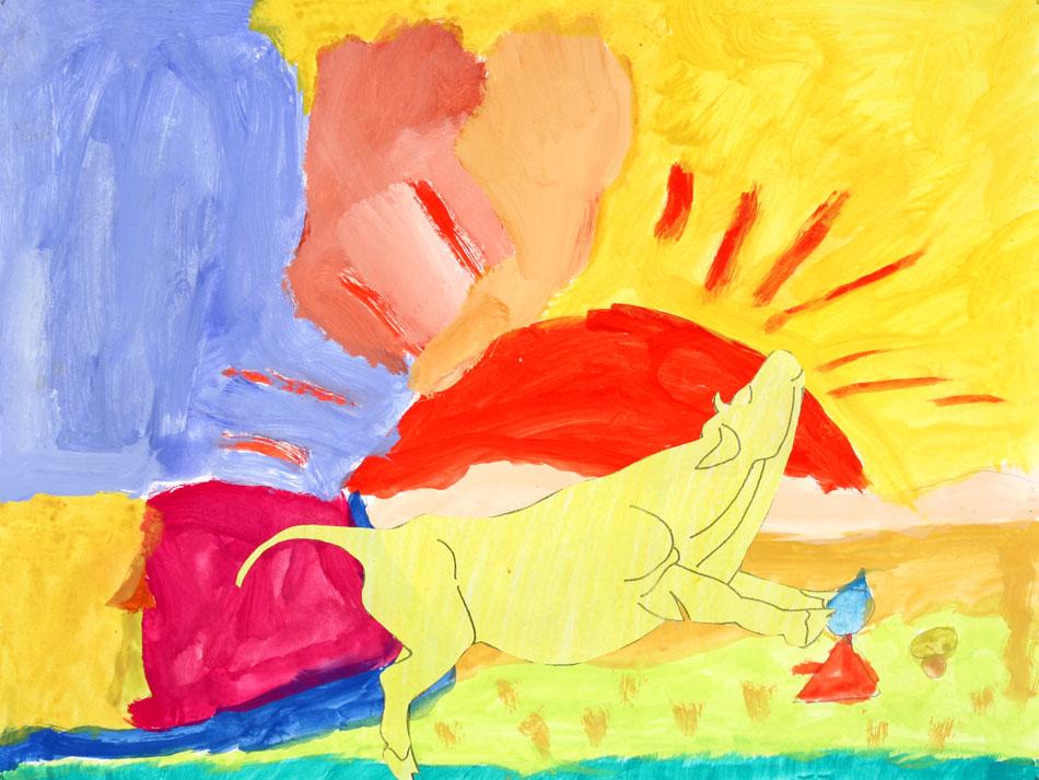 Gelbe Kuh von Lukas (8)