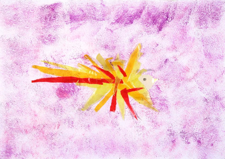 Fliegender Feuervogel von Helene (9)