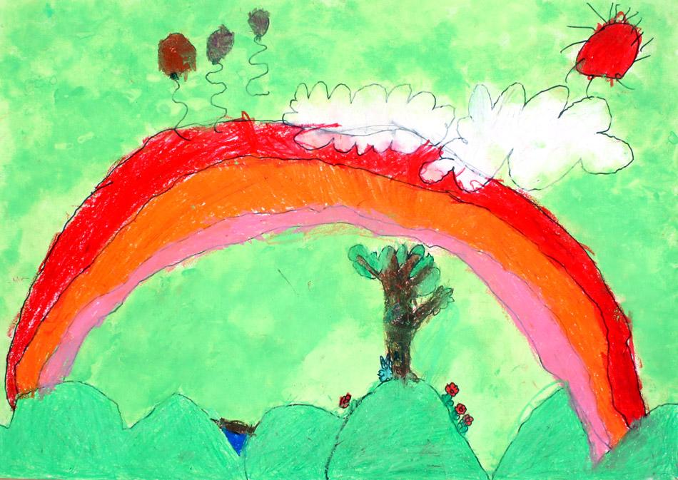 Luftballons steigen hoch von Kohei (6)