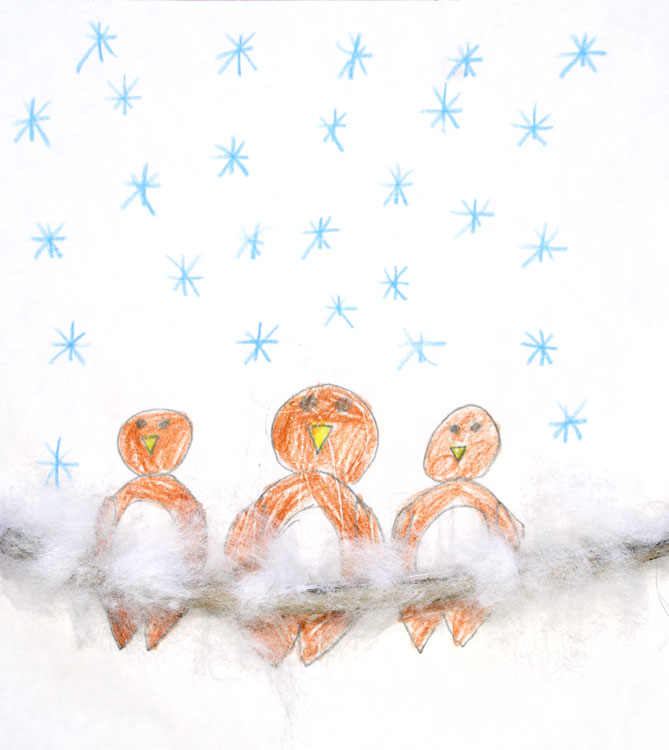 Spatzen im Schnee von Jennifer (7)