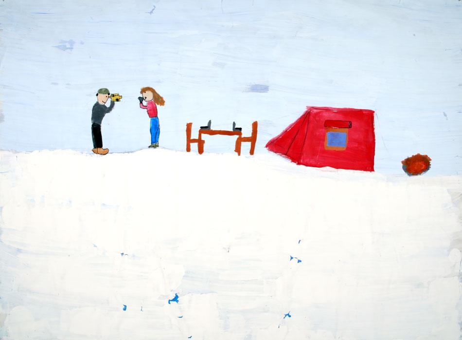 Am Nordpool - auf dem Eis von Julia und Daphna (10)