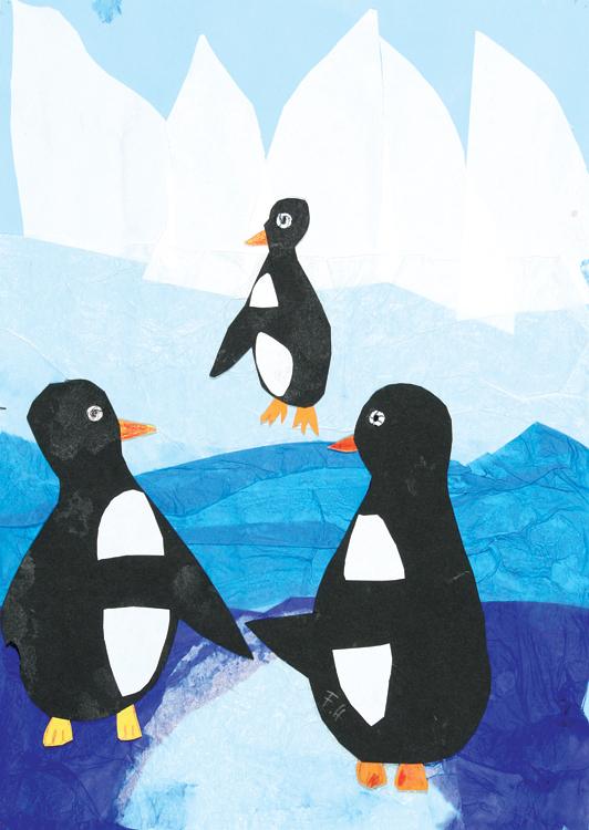 Pinguine am Nordpol von Fabian (9)