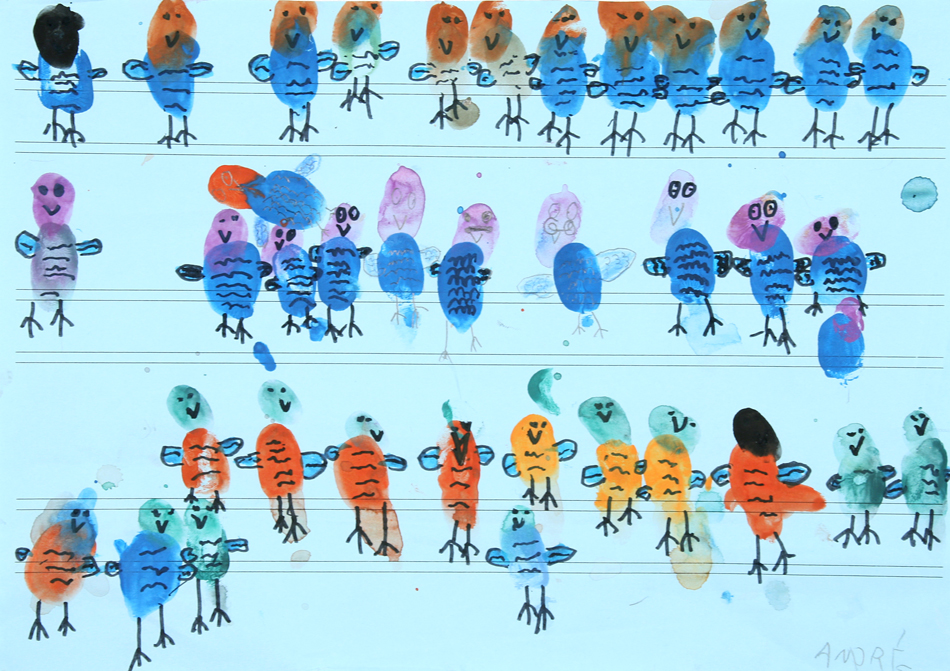 Vögel auf der Oberleitung von André (7)