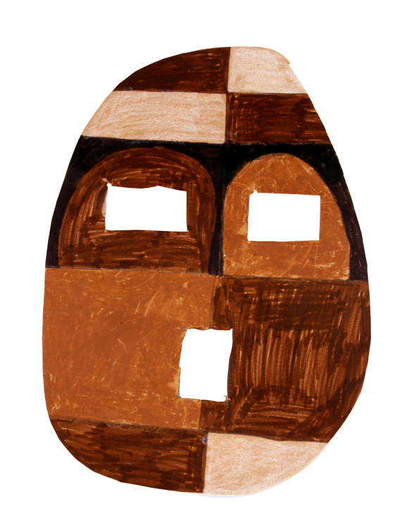 Afrikanische Maske von Daniel (9)