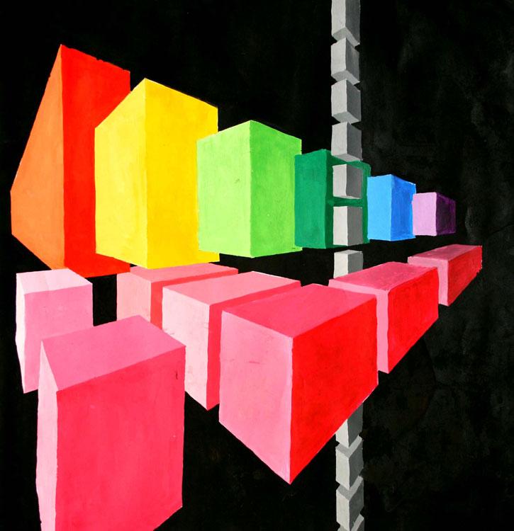 Dreidimensionale Konstruktion von Akari (14)