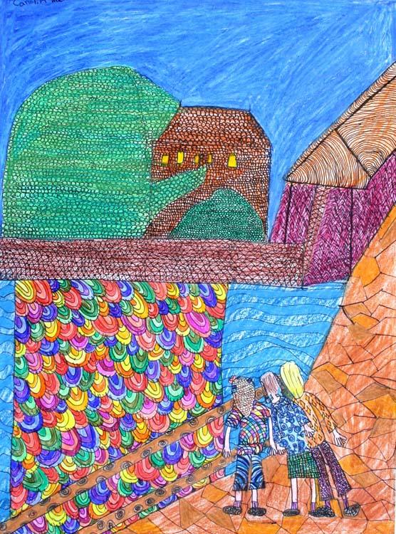 Berühmte Kunstwerke nachempfunden von Carolin (12)