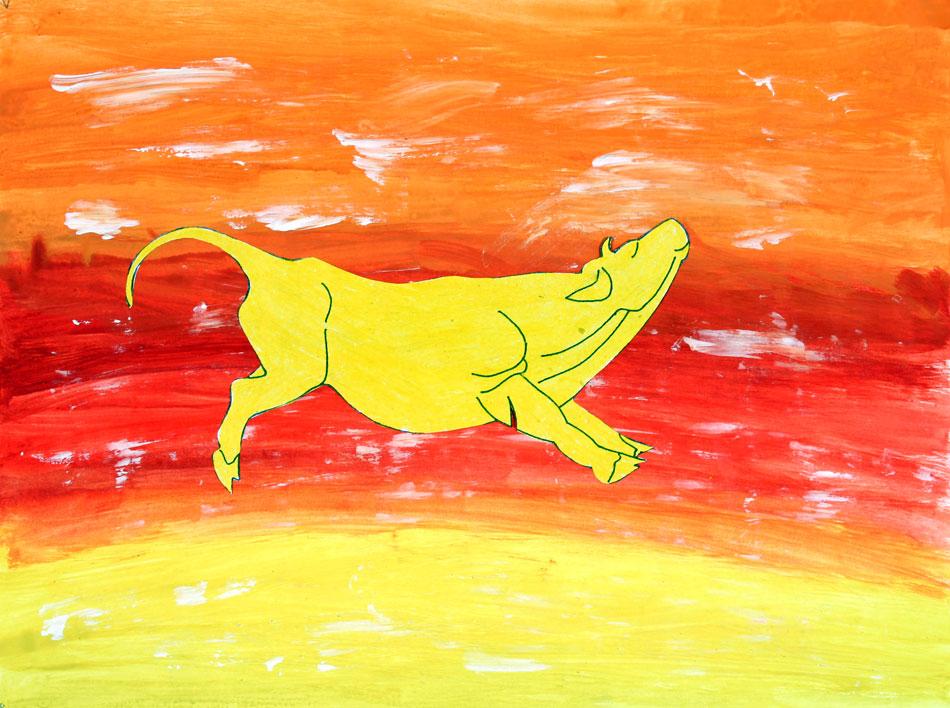 Gelbe Kuh von Patrick (8)