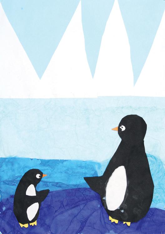 Pinguine am Nordpol von Jessica (9)