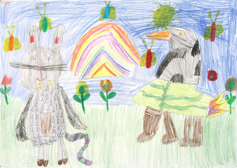 Zwei Phantasietiere begegnen sich von Mirim (9)