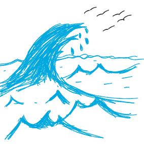 Daglar gibi dalgalari