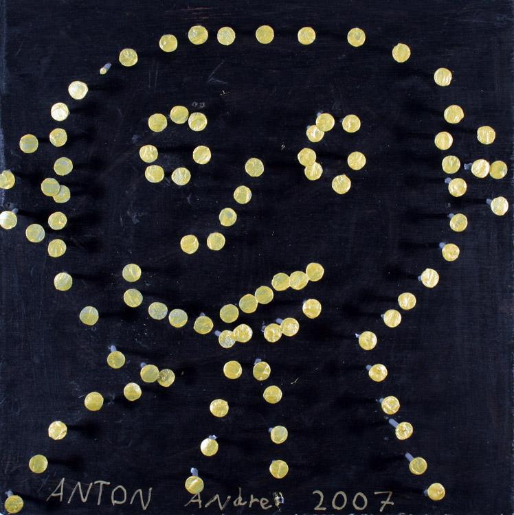 Nagelbild - Portrait von Anton (8)