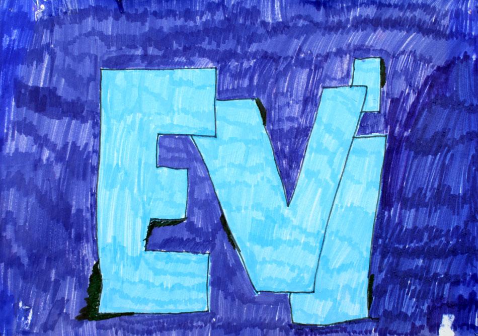 Mein Name von Evi (10)