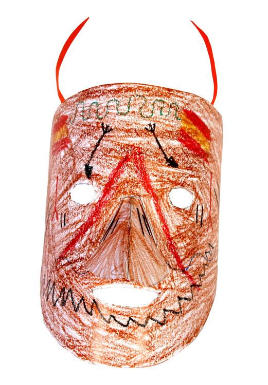 Afrikanische Maske von Peer (9)