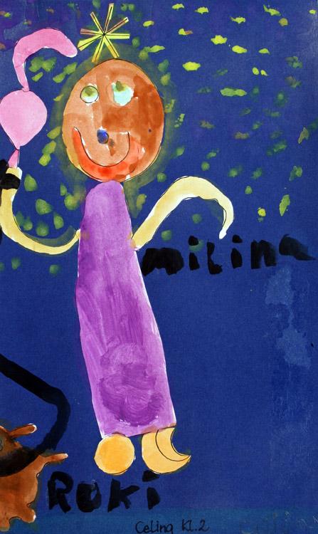 Frau vor der Sonne von Celina (7)
