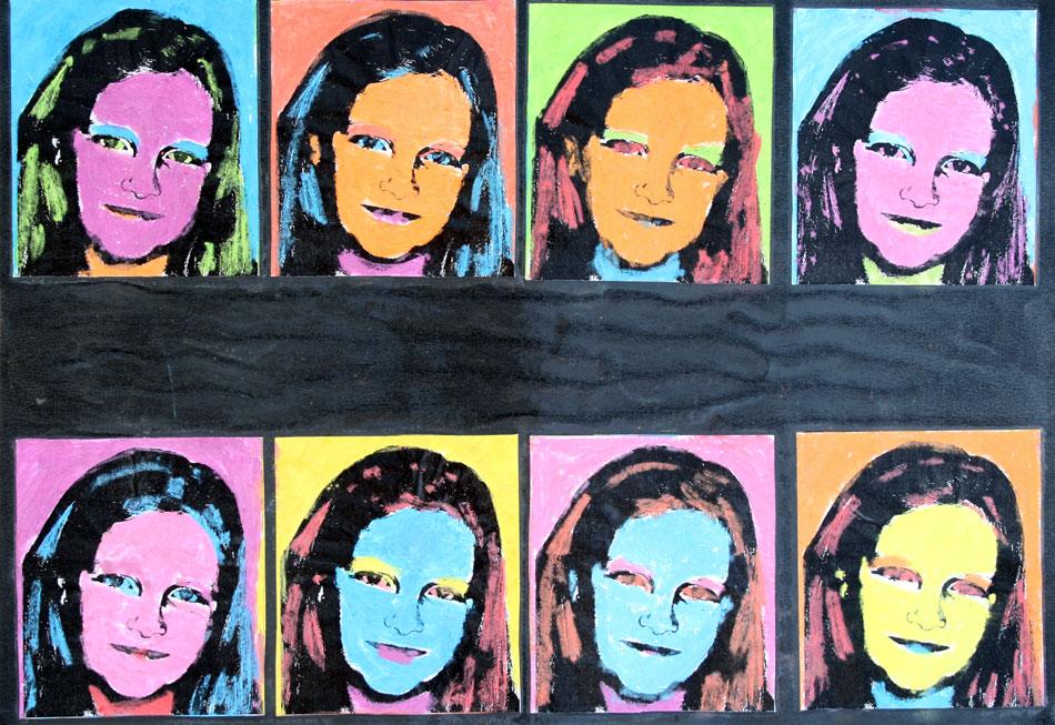 Mein Gesicht in Farbe von Maja (10)