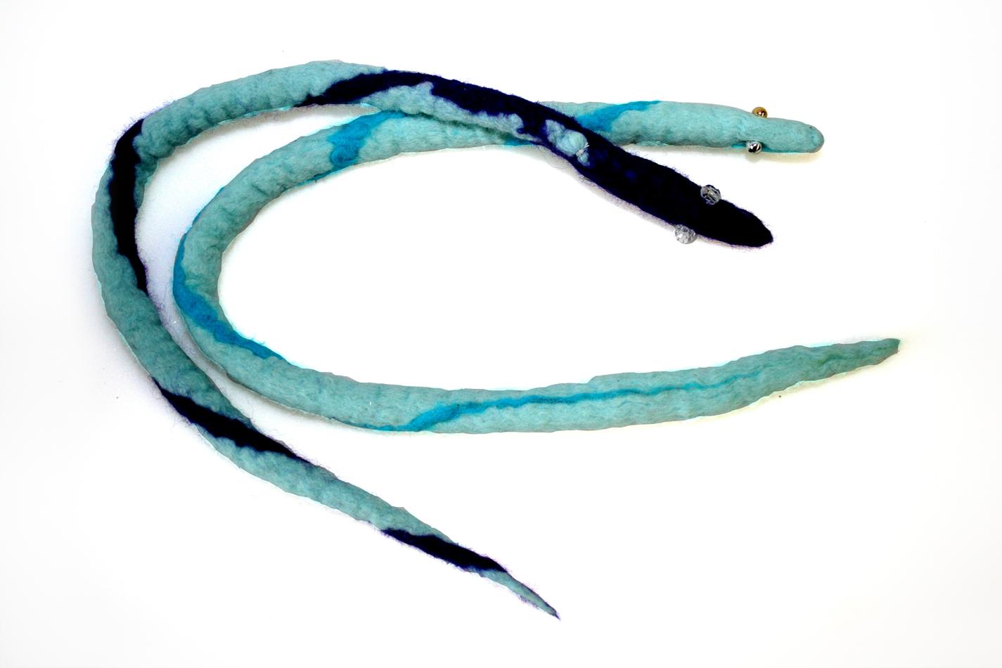 Filzschlangen von Vivian und Chayma (9)