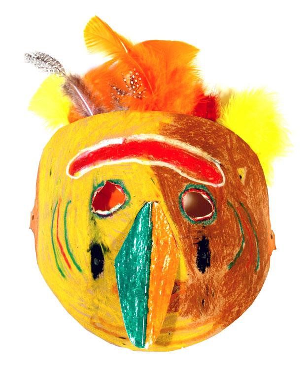 Afrikanische Maske von Oliver (9)
