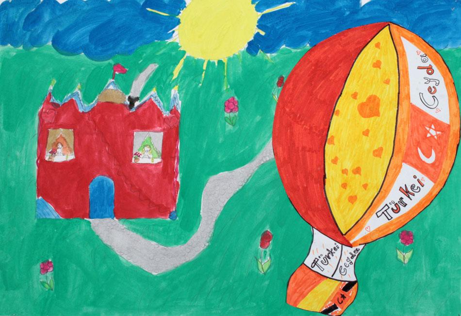 Fahrt mit dem Heißluftballon von Ceyda (10)