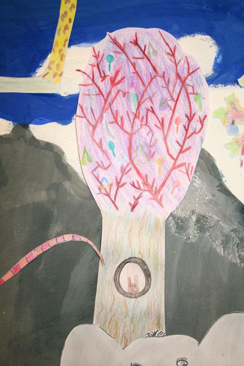 Baum von Gemeinschafts- arbeit (10-11)