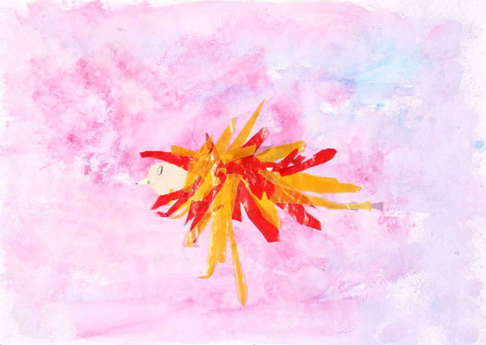 Fliegender Feuervogel von Lilly (7)