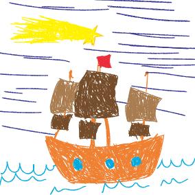Es kommt ein Schiff, geladen
