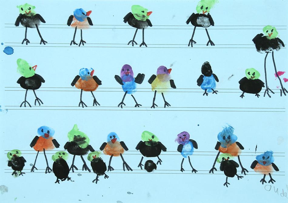Vögel auf der Oberleitung von Oudai (7)