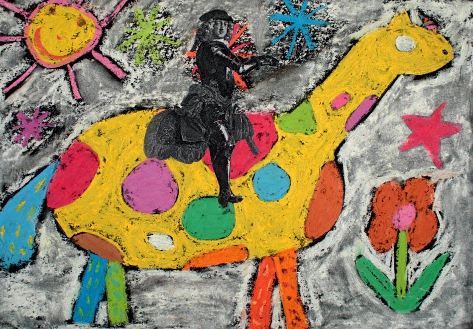 Jan Wellem reitet auf Phantasietier von Huilin (9)