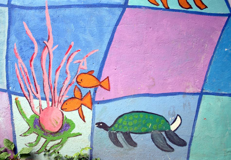 Unterwasserschildkröte von Gemeinschafts- arbeit (7-10)