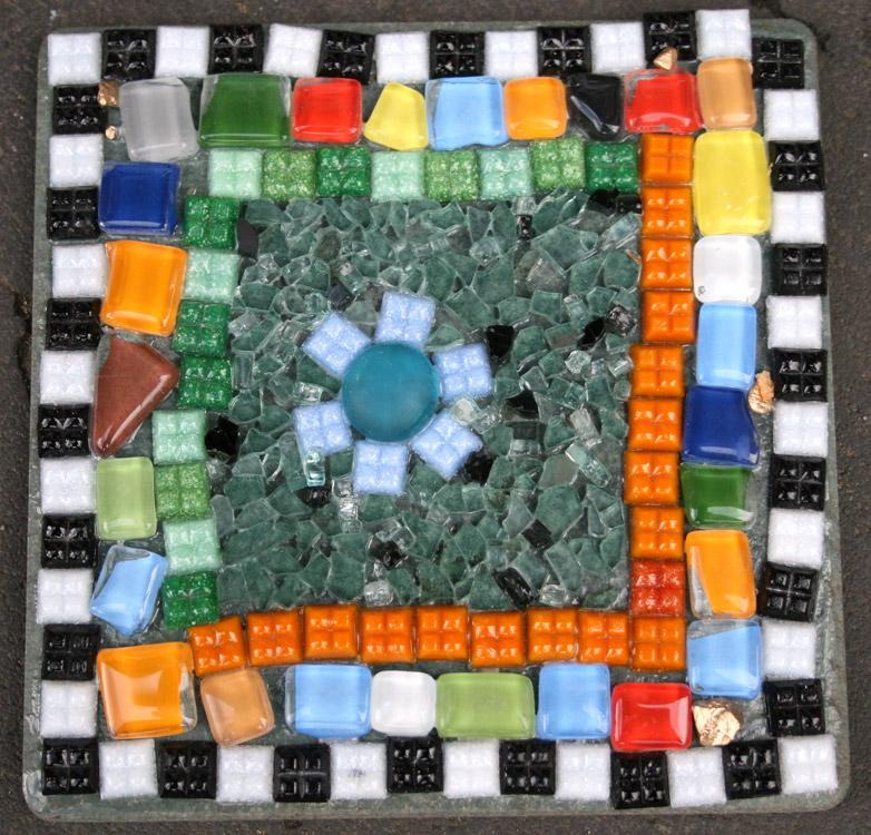 Mosaik  von Laura (8)