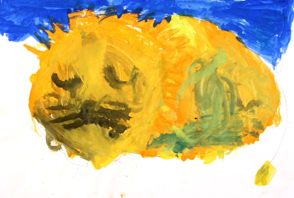 Schlafender Löwe von Selma (8)